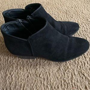 Massini black ankle boots sz 9